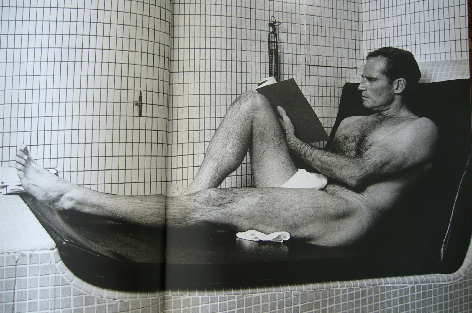Naked Charlton Heston Is That A Gun Or Are You Just No It S