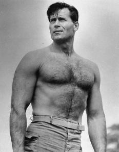 Clint Walker shirtless