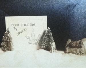 Vintage Christmas card 2