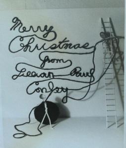 Vintage Christmas card 3