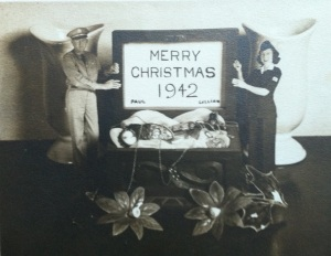 Vintage Christmas card 4