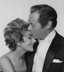 Kay Kendall and Rex Harrison