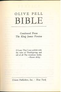 Olive Pell Bible