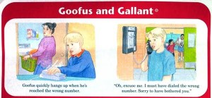 telephone-etiquette-1963-Goofus-Gallant