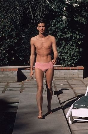 Anthony Perkins Shirtless