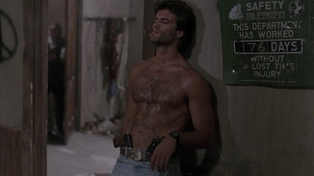Lorenzo Lamas shirtless Snake Eater