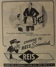 Homoerotic Reis Scandals vintage mens underwear ad3