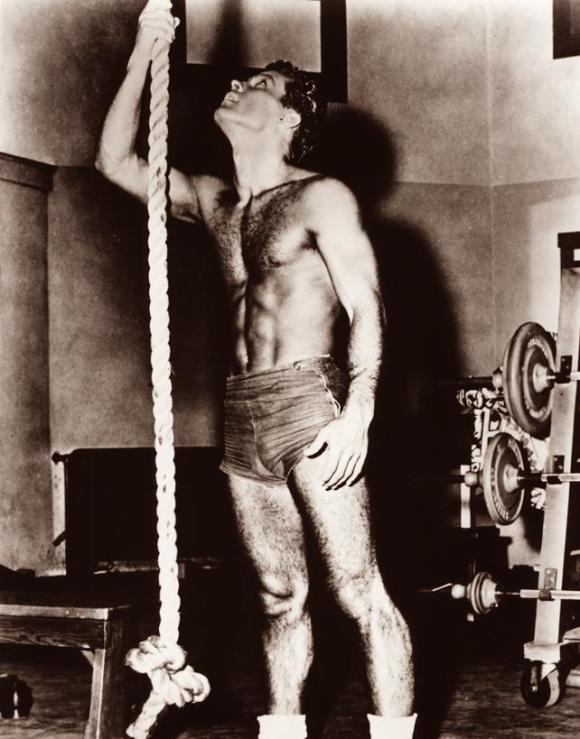 Robert Conrad shirtless