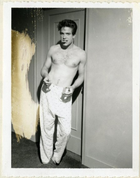Shirtless Warren Beatty